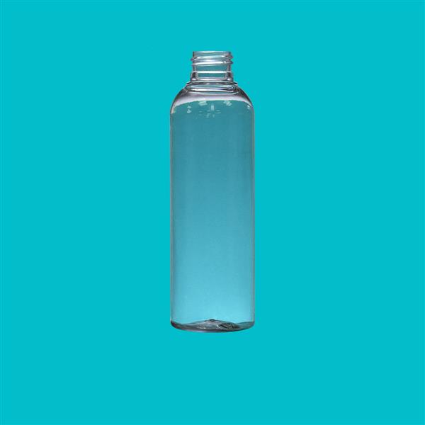 Bottle 200ml Tall Boston PET Clear 24mm