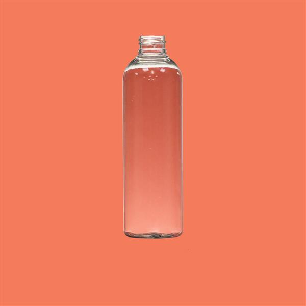 Bottle 250ml Tall PET Clear 24mm