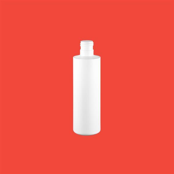 Bottle 200ml Tubular HDPE White 24mm 415
