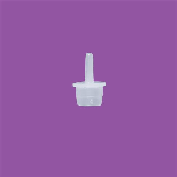 Pointed Plug 12mm LDPE Natural