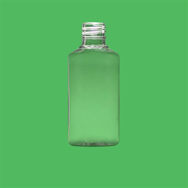 Bottle 30ml Oval PET Clear 18mm