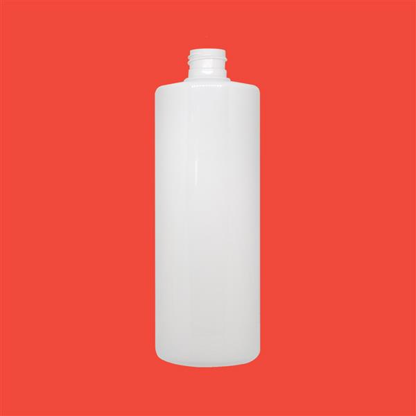 Bottle 200ml Tubular PET White 24mm