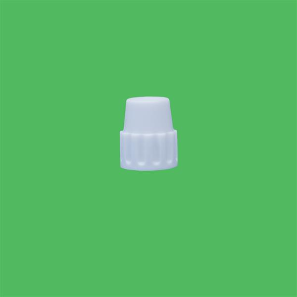 Cap 18mm Pointed Cap White