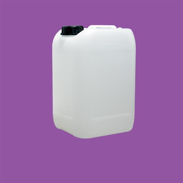 Jerrycan 10000ml UN Stackable HDPE Natural 59mm