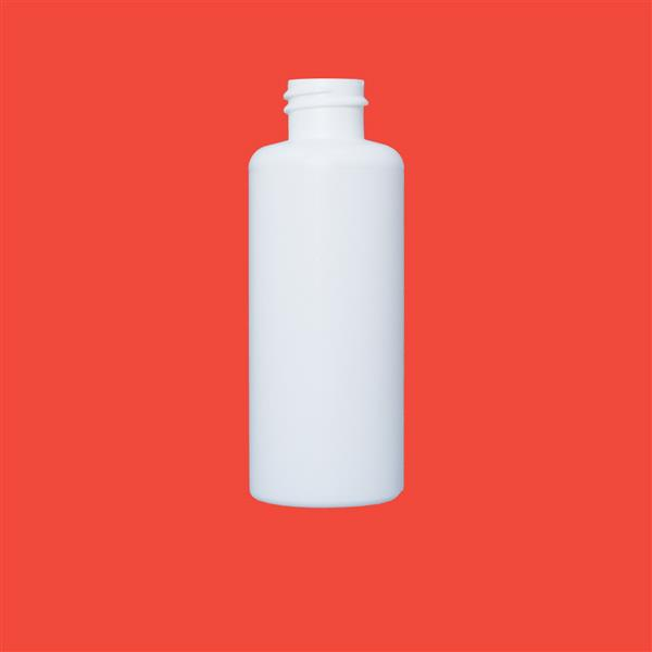 Bottle 65ml Bore Seal HDPE White 20mm