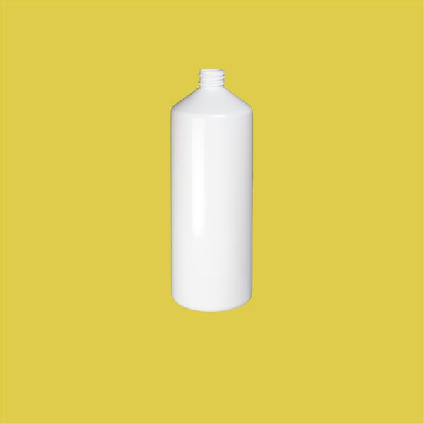 Bottle 1000ml Swipe PET White 28mm