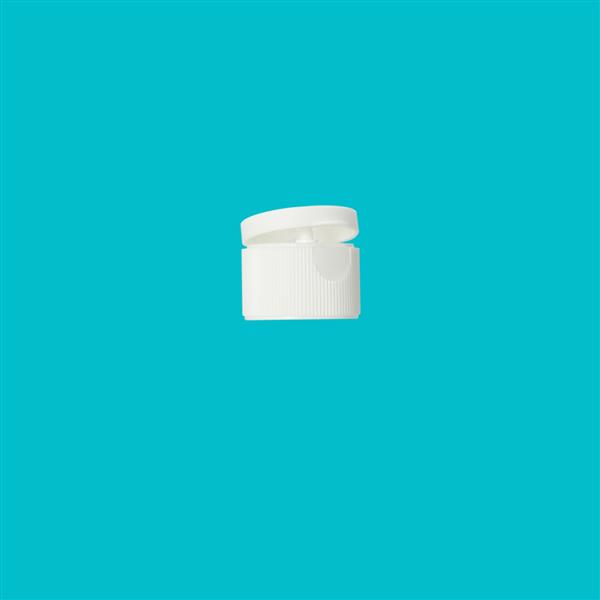 Cap 28mm Flip Top White