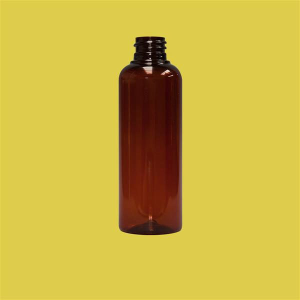 Bottle 100ml Tall Boston PET Amber 20mm
