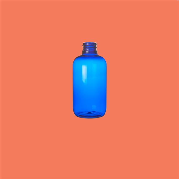 Bottle 100ml Boston PET Blue 20mm