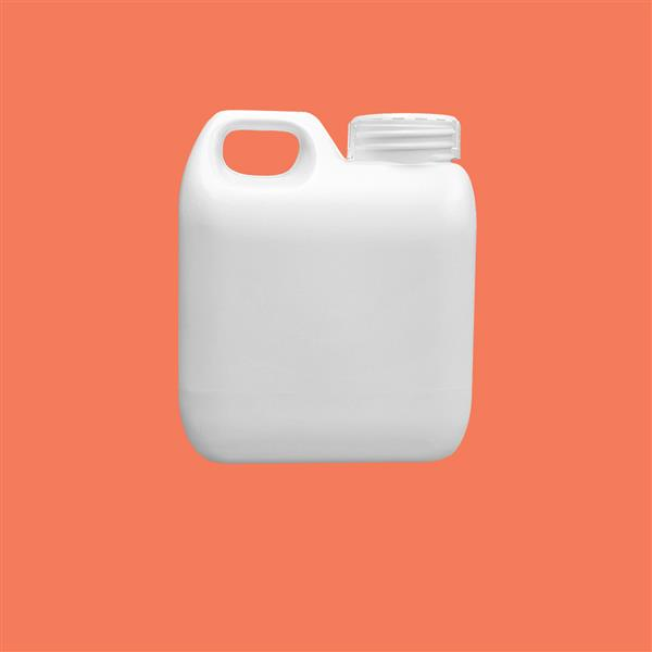 Jerrycan 500ml HDPE White 38mm