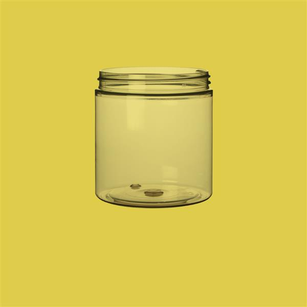 Jar 250ml Recycled PET Natural 70mm