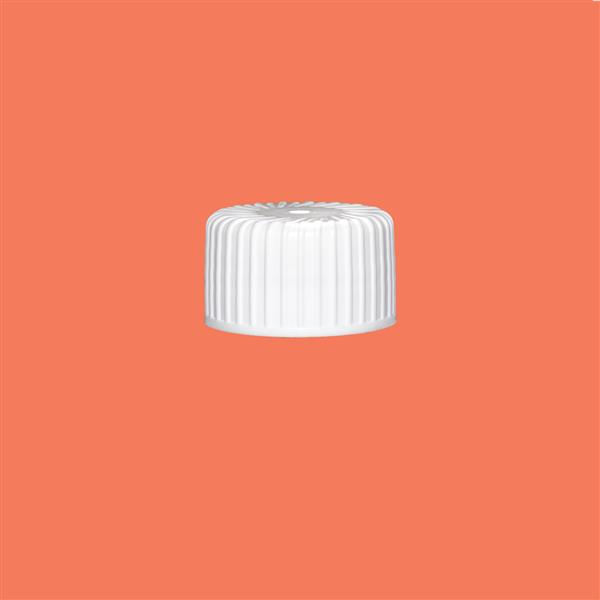Cap 24mm Induction Heat Seal (for HDPE) White