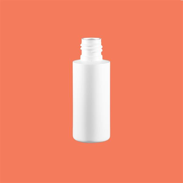 Bottle 50ml Tubular HDPE White 20mm 415