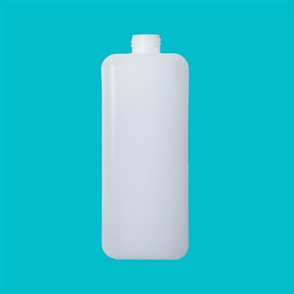 Bottle 2000ml Rectangular HDPE Natural 38mm