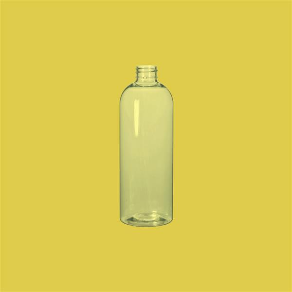 Bottle 500ml Tall Boston Round PET Clear 28mm