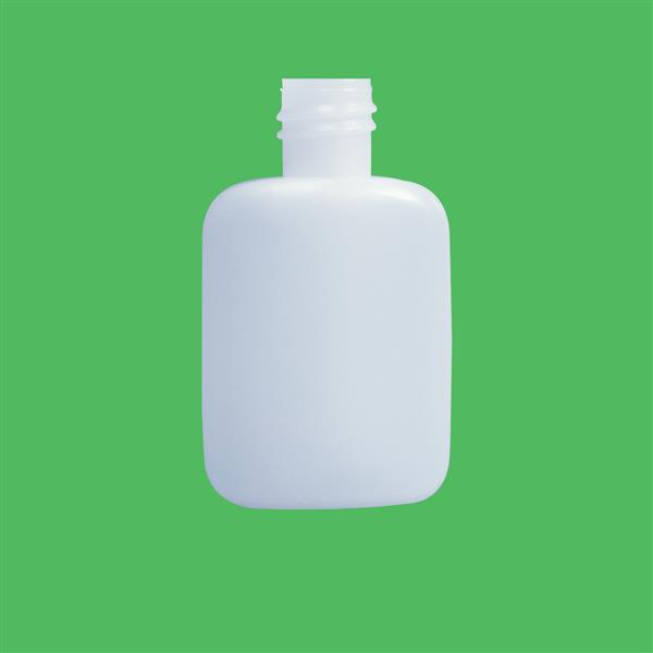 Bottle 30ml Special Code Oval HDPE Natural 18mm