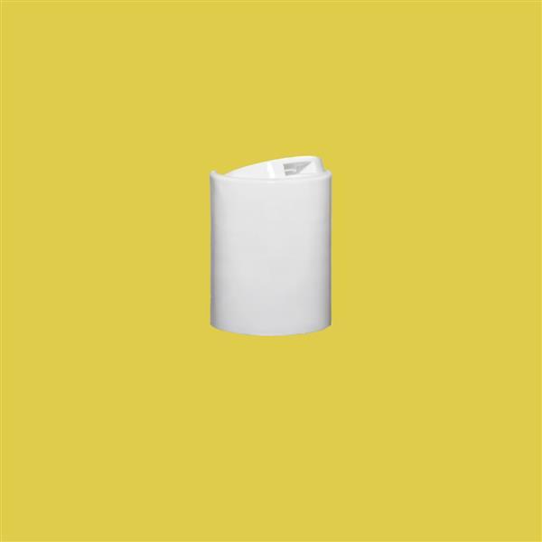 Cap 24mm 415 Disc Top White