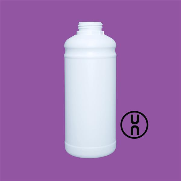 Bottle 1000ml UN Tamper Evident White 42mm