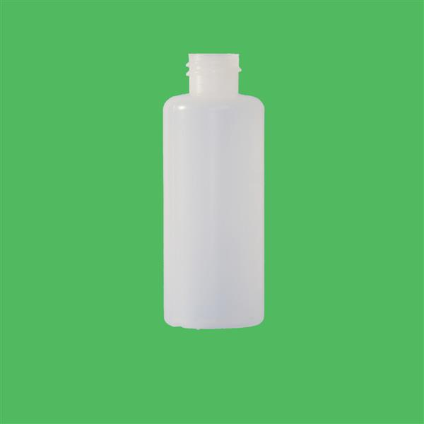 Bottle 65ml Bore Seal HDPE Natural 20mm