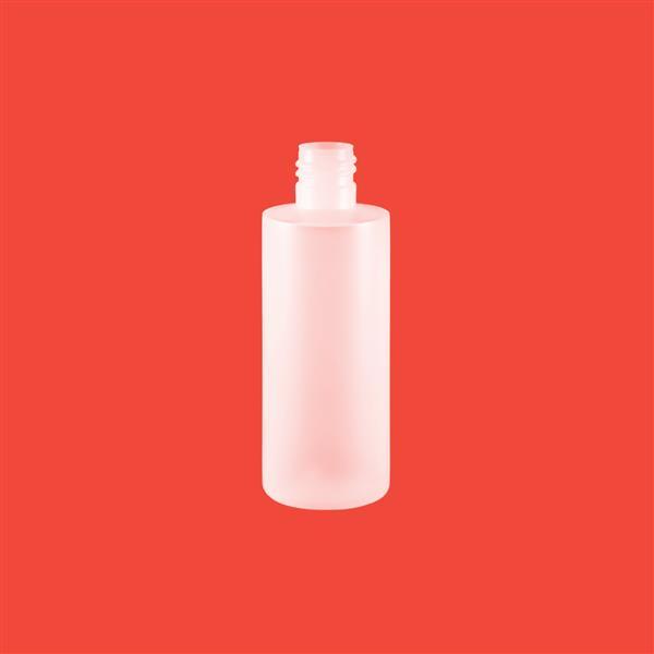 Bottle 100ml Tubular HDPE Natural 20mm 415