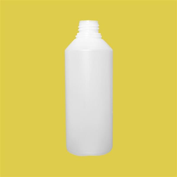 Bottle 500ml Swipe Tamper Evident HDPE Natural 32mm