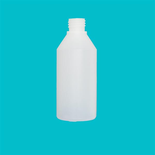 Bottle 200ml Swipe HDPE Natural 24mm