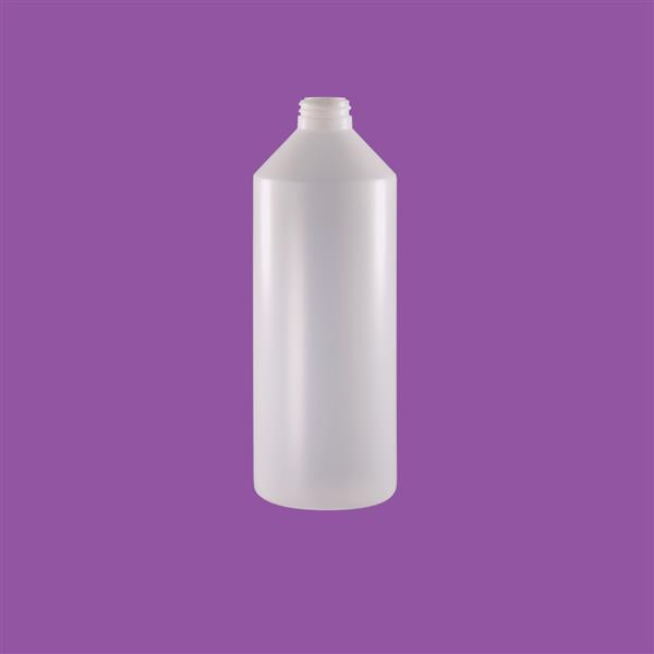 Bottle 1000ml Sauce HDPE Natural 31mm