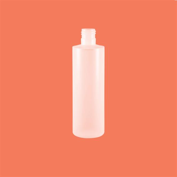 Bottle 250ml Tubular HDPE Natural 24mm 415