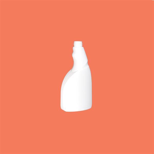 Trigger Bottle 500ml HDPE White 28mm