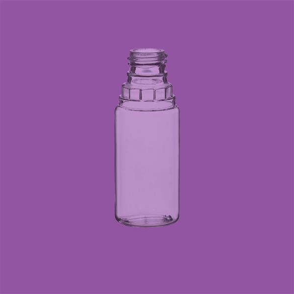 Bottle 10ml 20.5mm Tamper Evident PET Clear 12mm