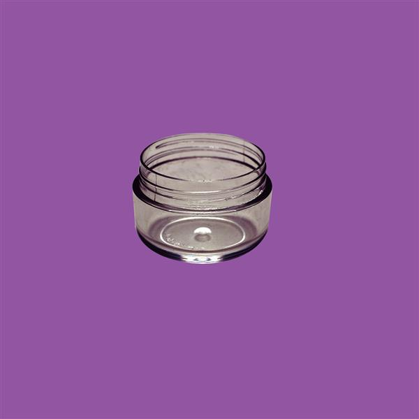 Jar 6ml SAN Clear 30mm