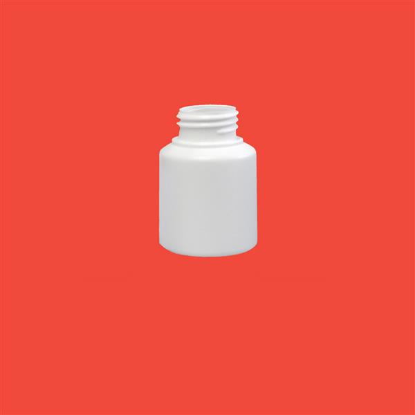 Tablet Jar 125ml HDPE White 38mm