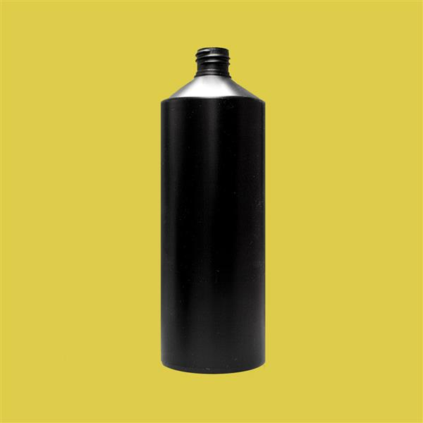 Bottle 1000ml Swipe HDPE Black 28mm