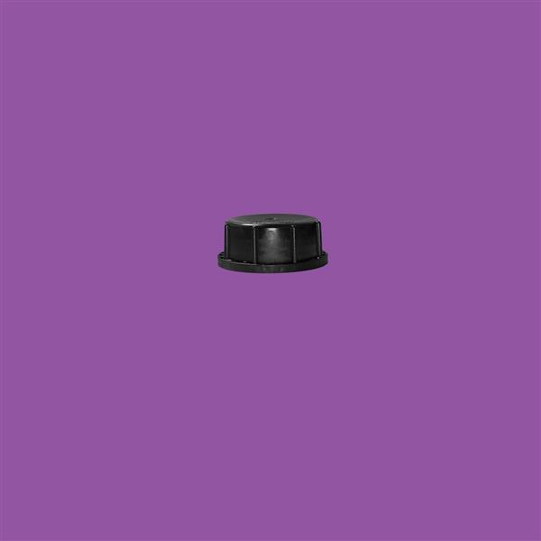 Cap 51mm 410 Tamper Evident Black