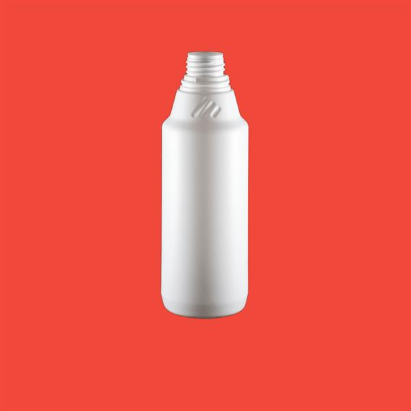 Bottle 500ml Empire Tamper Evident HDPE White 32mm