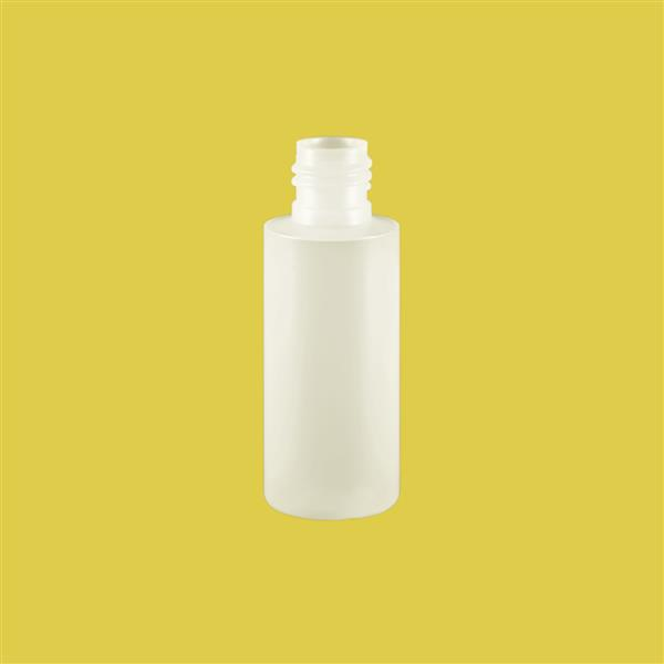 Bottle 50ml Tubular HDPE Natural 20mm 415