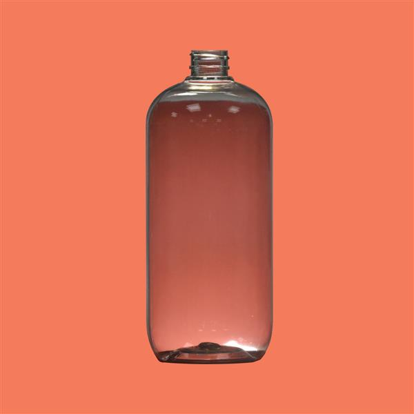 Bottle 1000ml Boston PET Clear 28mm