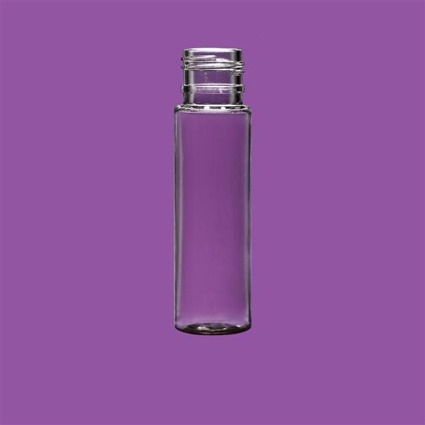 Bottle 10ml Cylinder PET Clear 16mm