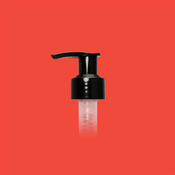 Lotion Pump 24mm 410 Smooth Black