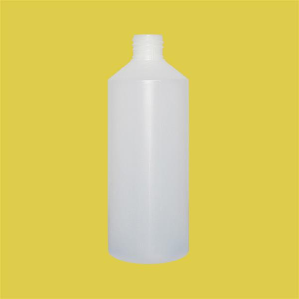 Bottle 500ml Swipe HDPE Natural 28mm