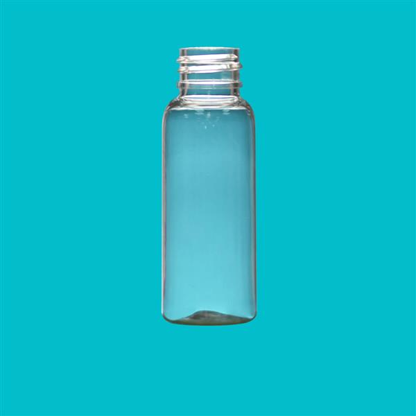 Bottle 30ml Boston Round PET Clear 20mm