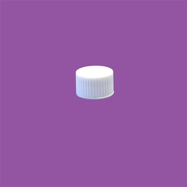 Cap 28mm Ribbed Wadded White