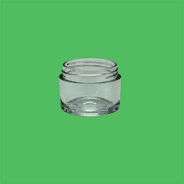Jar 10ml SAN Clear 33mm