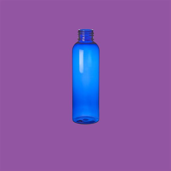 Bottle 125ml Tall Boston PET Blue 24mm