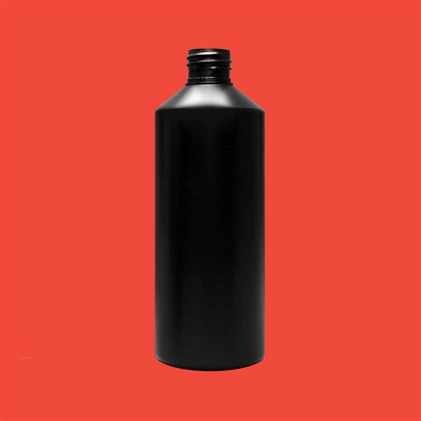 Bottle 500ml Swipe HDPE Black 28mm