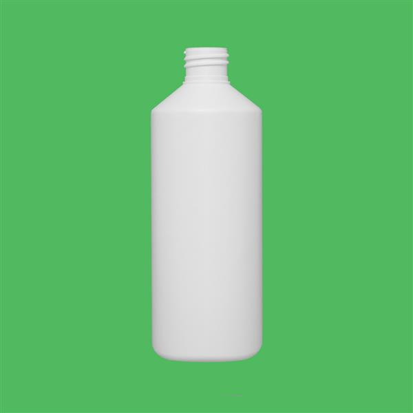 Bottle 500ml Swipe HDPE White 28mm