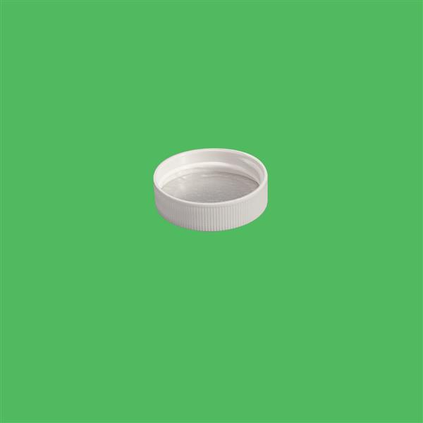 Cap 38mm 400 Induction Heat Seal (For PET) White