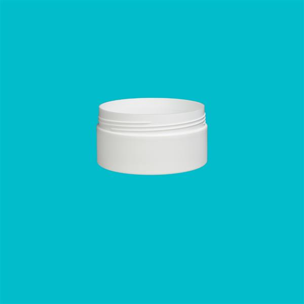 Jar 200ml Matt Polypropylene White 88mm