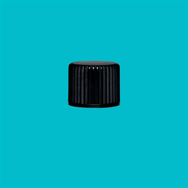 Cap 15mm 415 Boreseal Ribbed Black