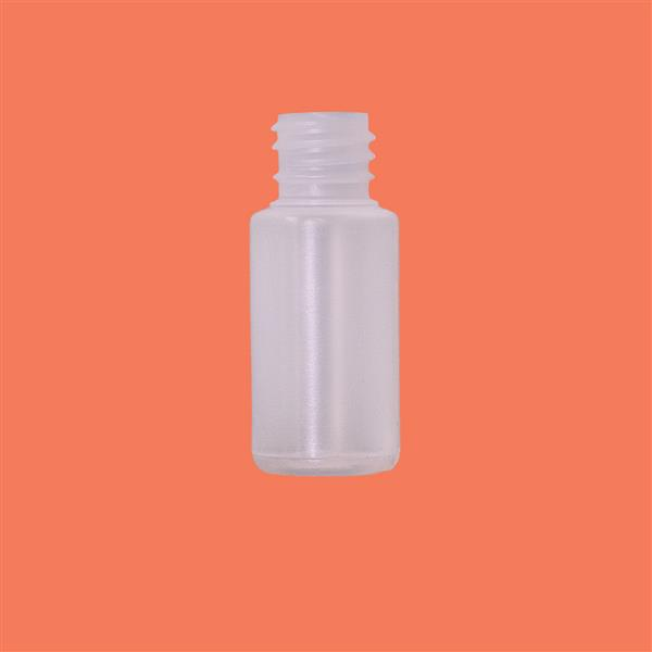 Bottle 15ml Cylinder LDPE Natural 18mm
